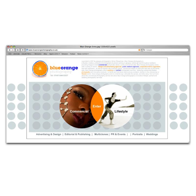 Blue-orange-photography-website-design-1