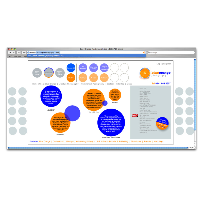 Blue-orange-photography-website-design-3